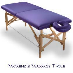 massage and bodywork tables
